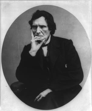 "With his flamboyant ways and Radical Republican views, Congressman Thaddeus Stevens was known as the ""dictator of Congress."""
