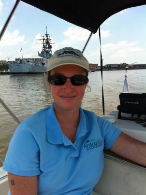Anacostia Riverkeeper Dottie Yunger says the river needs spiritual healing.