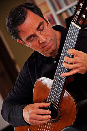 Classical guitarist Charles Mokotoff was diagnosed with bilateral hearing loss at age 15.