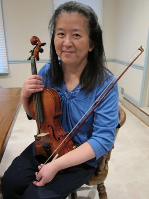 Hearing loss didn't stop Wendy Cheng from pursuing piano, violin and eventually, viola.