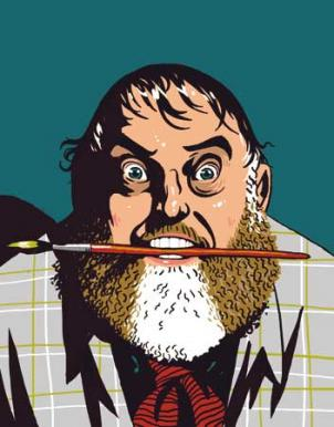 Actor Jim Brochu channels Zero Mostel's wild moods, crazy humor and righteous anger.