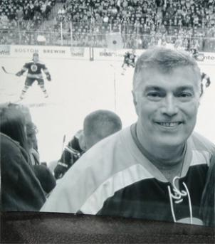 Martin Bodrog, 54, was a die-hard fan of the Boston Bruins.