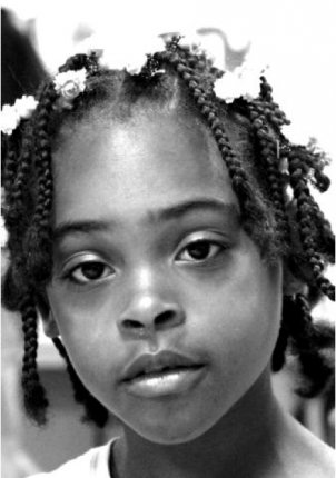 Relisha Tenau Rudd, 8, may be in need of medication.