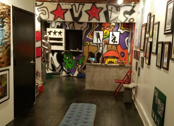 Pot, Or Paintings? Raid On Glover Park Art Gallery