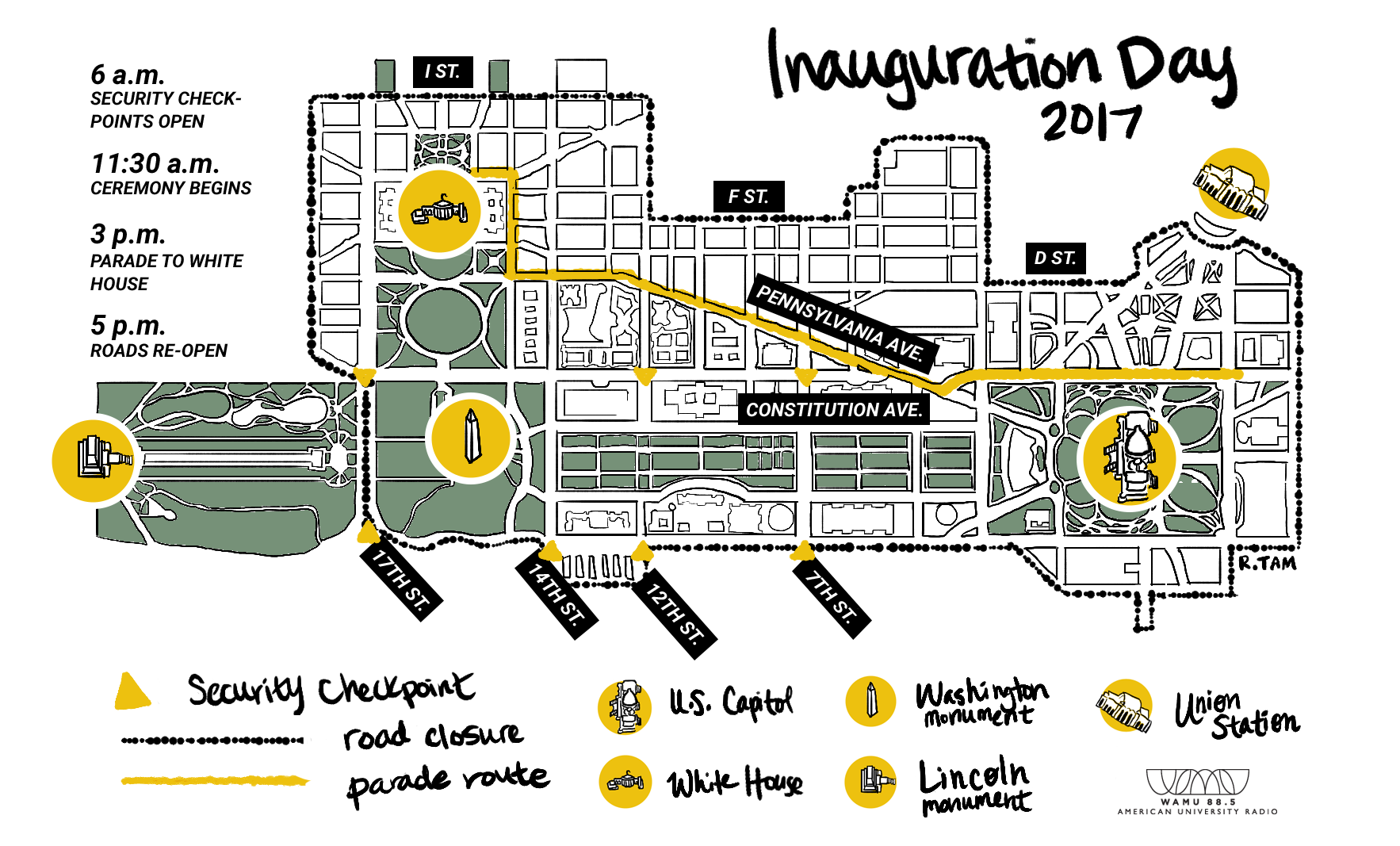 inauguration weekend 2017 what you need to know wamu