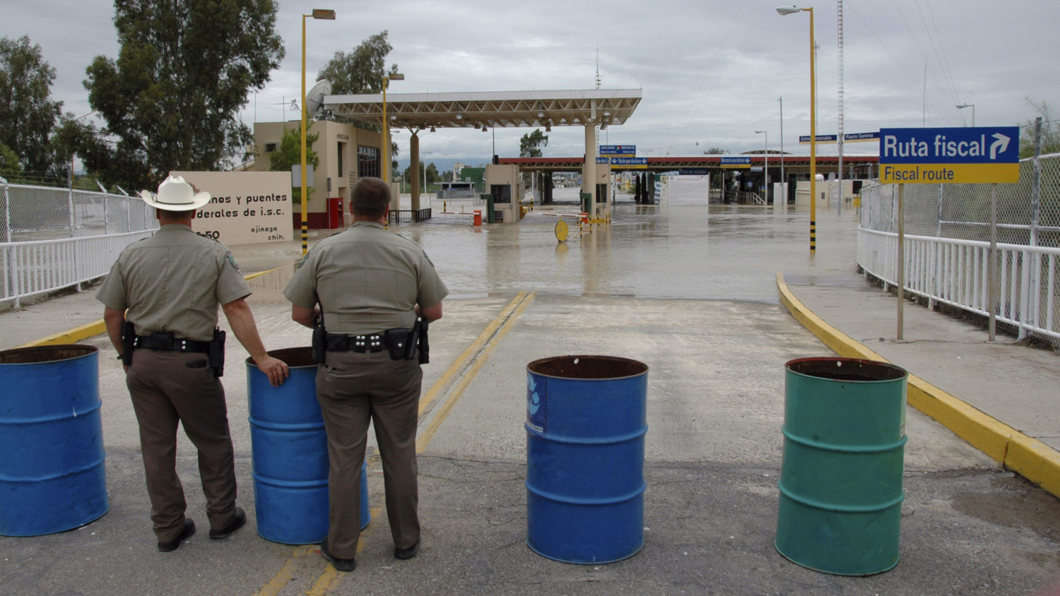 Mexico Worries That A New Border Wall Will Worsen Flooding