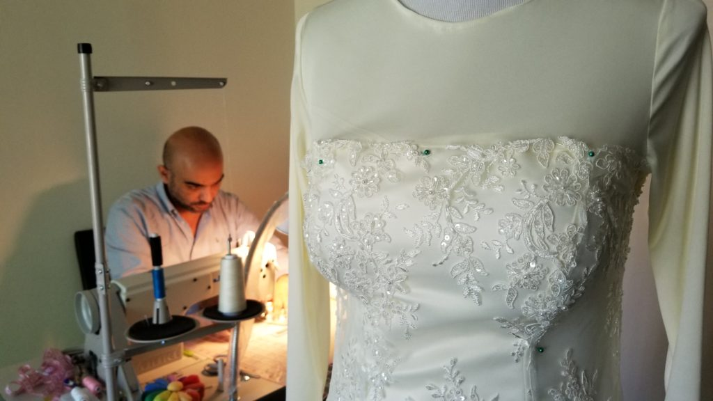 Wedding Dress A Symbol Of Something New For Syrian Refugee