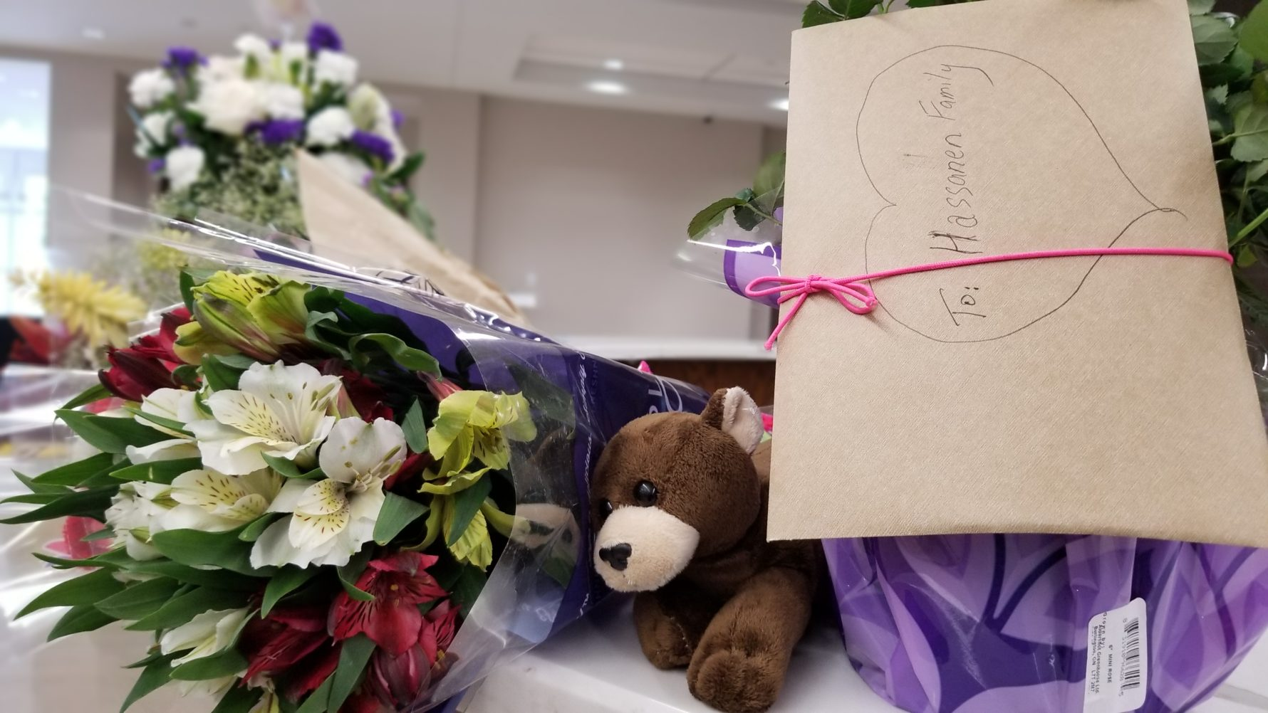 An awful kind of tragedy northern virginia muslims and neighbors all day monday well wishers piled the front desk of the all dulles area muslim society with flowers for nabra hassanens bereaved family izmirmasajfo