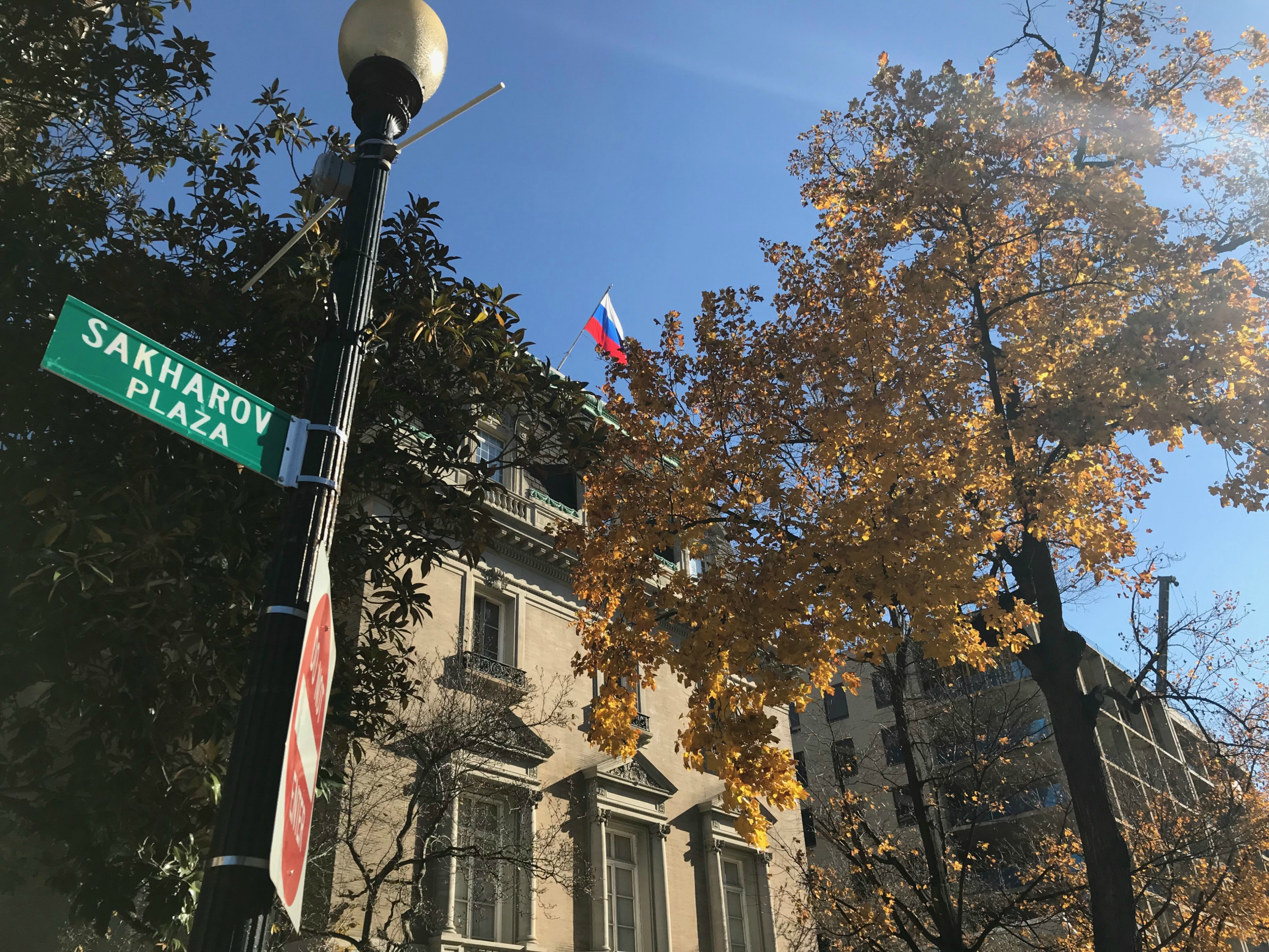 D C  Bill Would Rename Street In Front Of Russian Embassy