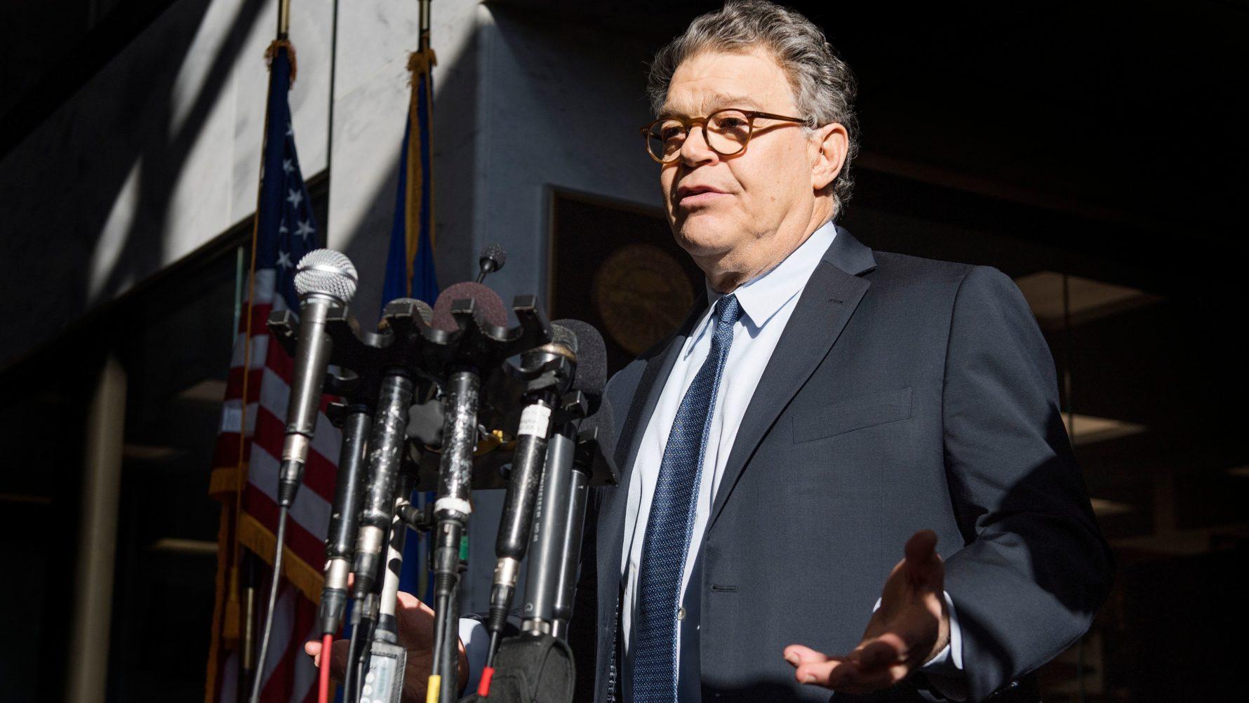 Democratic Senators Call For >> Al Franken Under Pressure As Group Of Democratic Senators Calls For