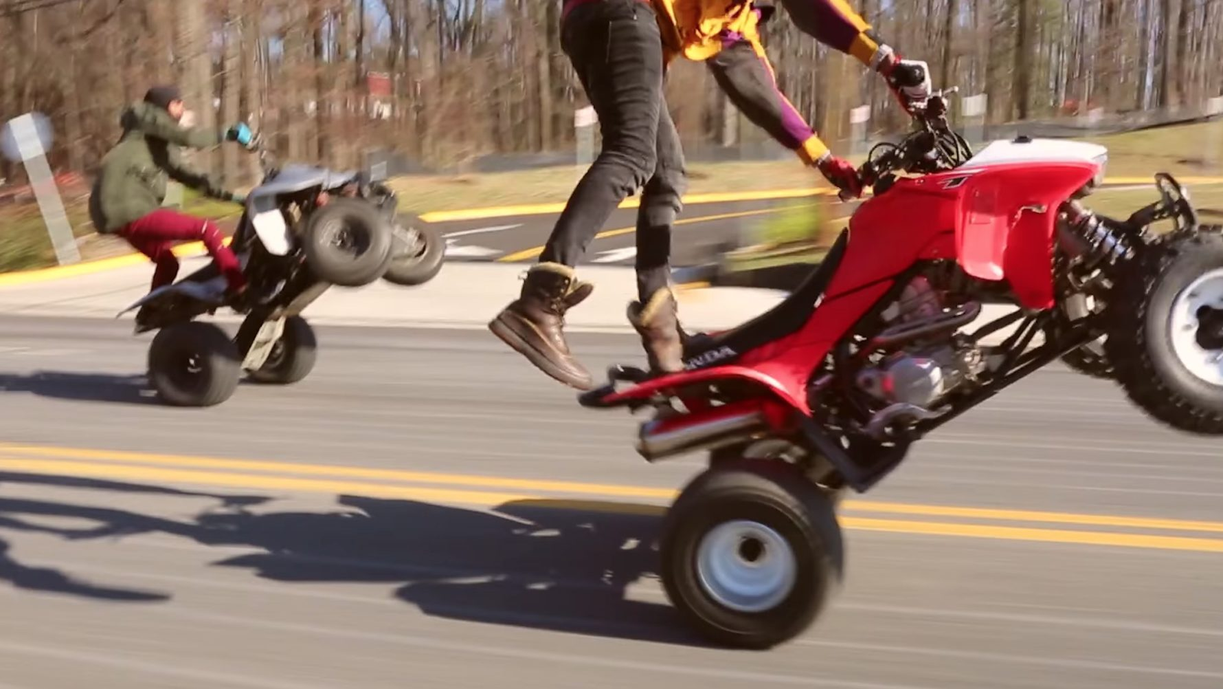 culture or a crime d c group wants to legalize atvs and dirt bikes