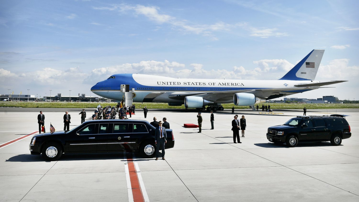 New Air Force One Deal Cleared For Takeoff Wamu