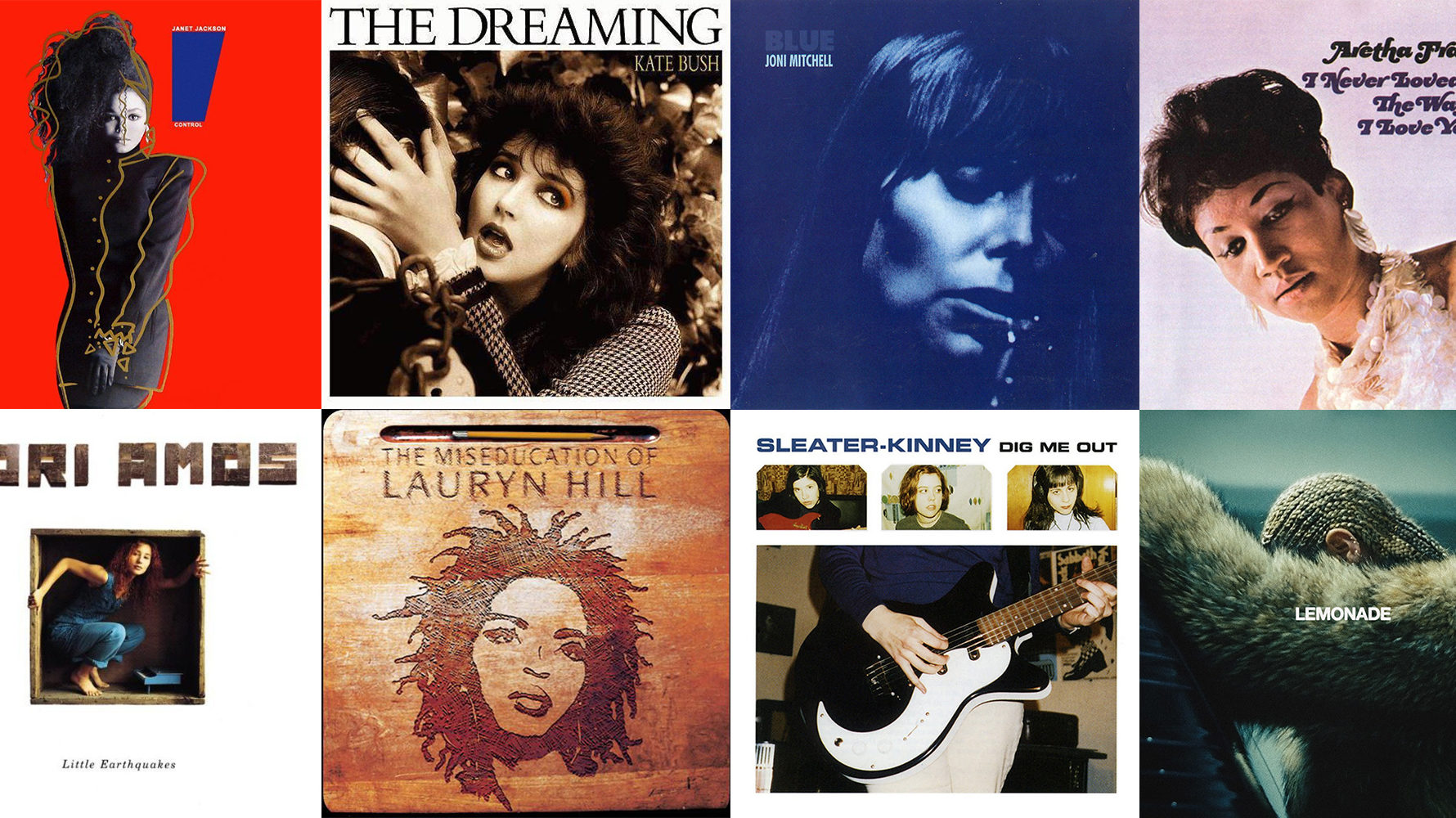 Turning The Tables The 150 Greatest Albums Made By Women As Chosen