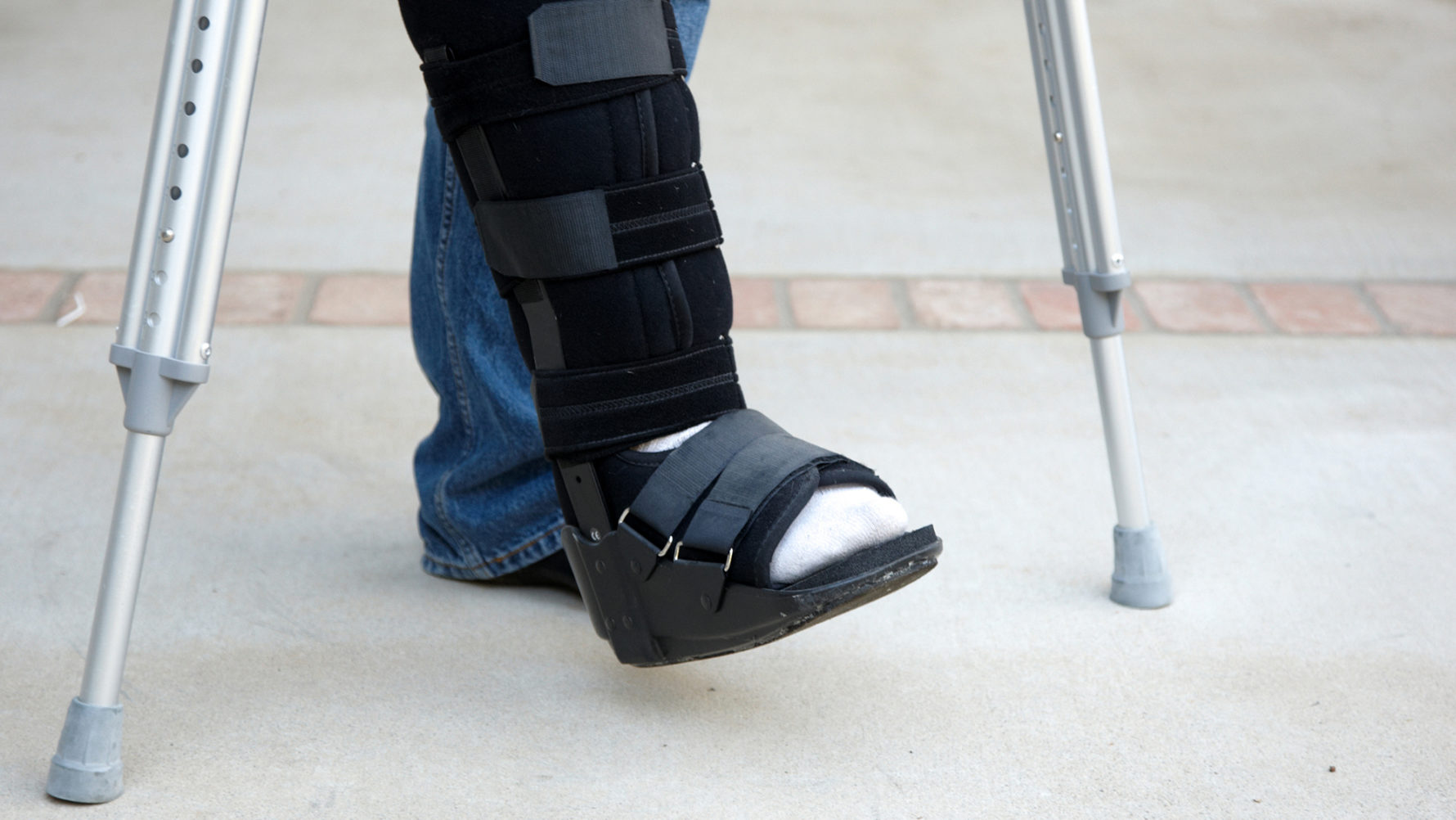 Sprained Your Ankle The Cost Of A Walking Boot Could Sprain Your