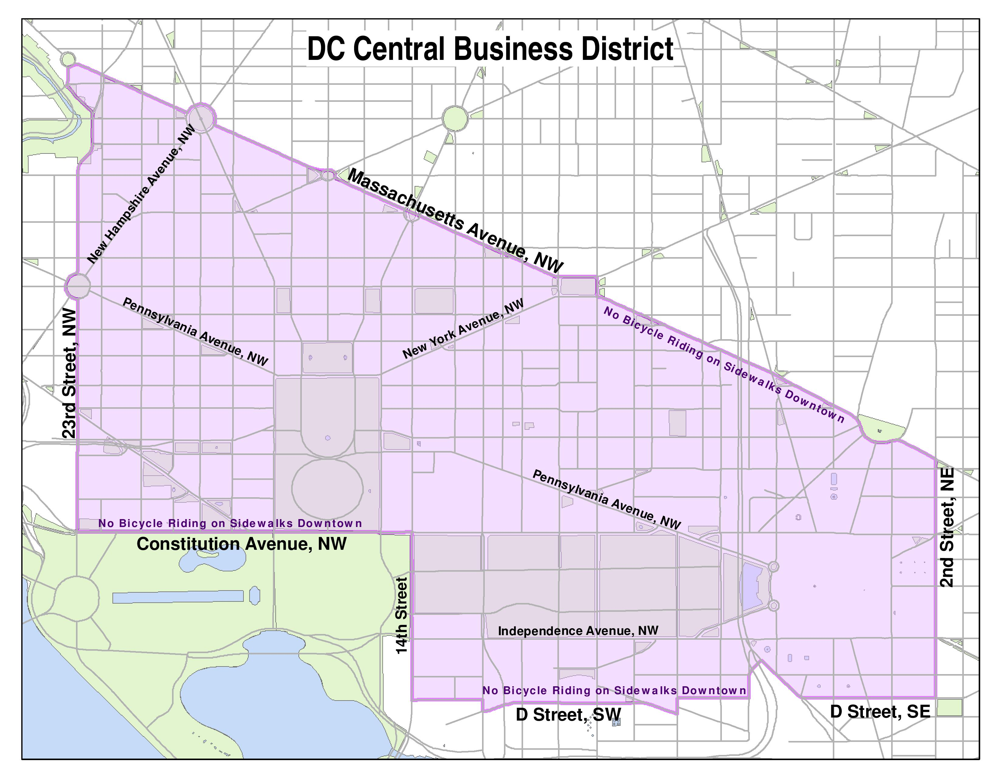 Who Has A Right To D.C.'s Sidewalks? | WAMU Map Of Dc Independence Avenue on map of nw washington rivers, map of northwest ohio cabin rentals, map of upper northwest usa, map of capitol hill baptist area,