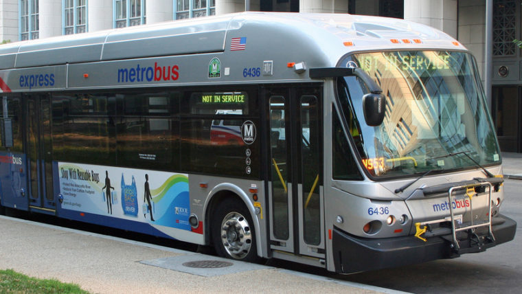 dedicated bus lanes are coming to 16th street nw by 2020 district