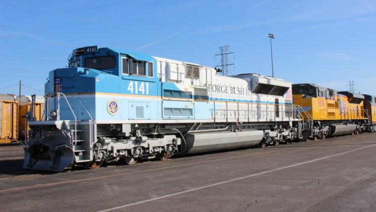 Aboard The 4141 Train Bush To Get Final Ride Through Texas