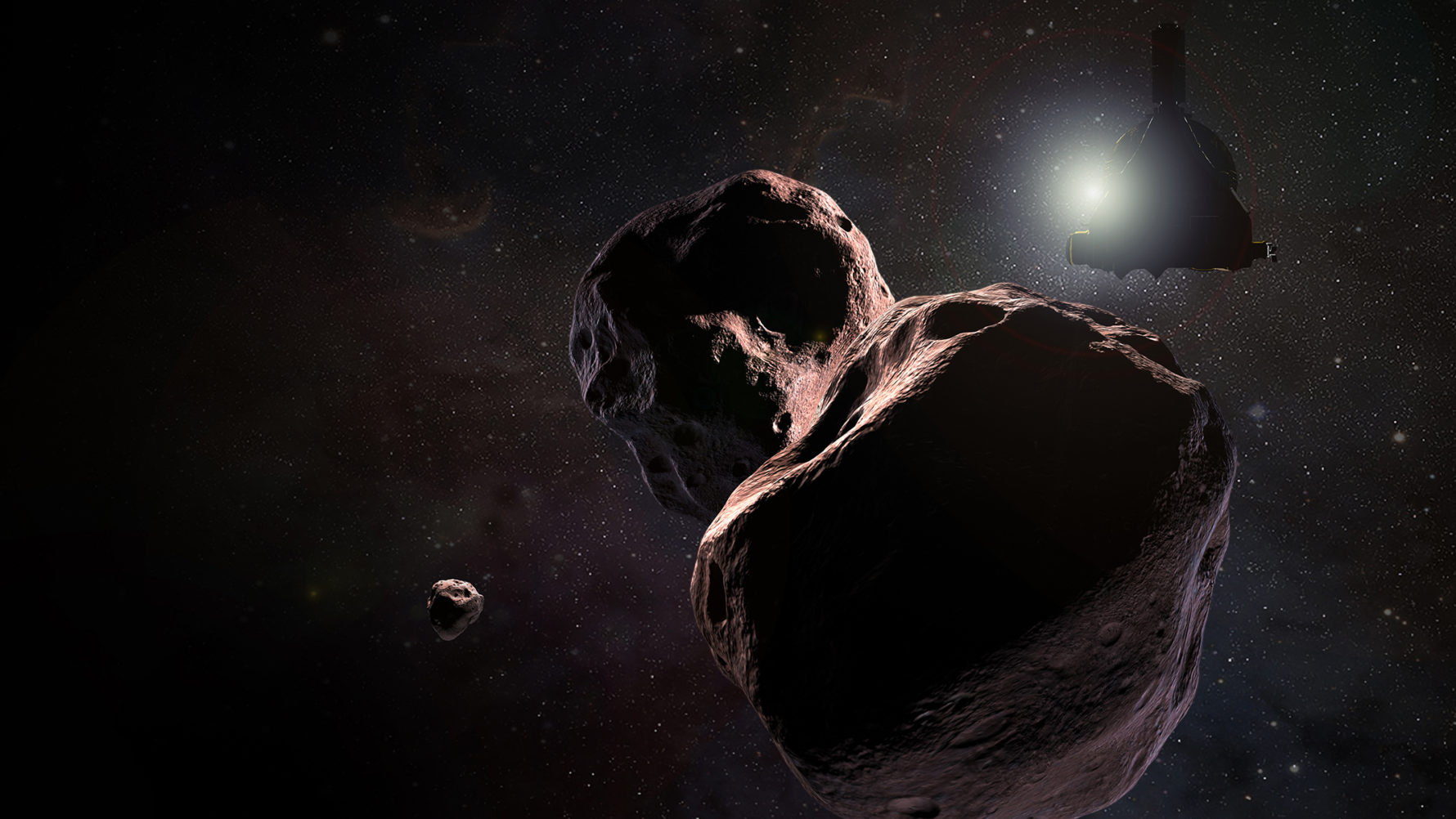 Horizonsecraft Encountering Ultima Thule A Kuiper Belt Object That Orbits 1 Billion Miles 1 6 Billion Kilometers Beyond Pluto On Jan 1 2019