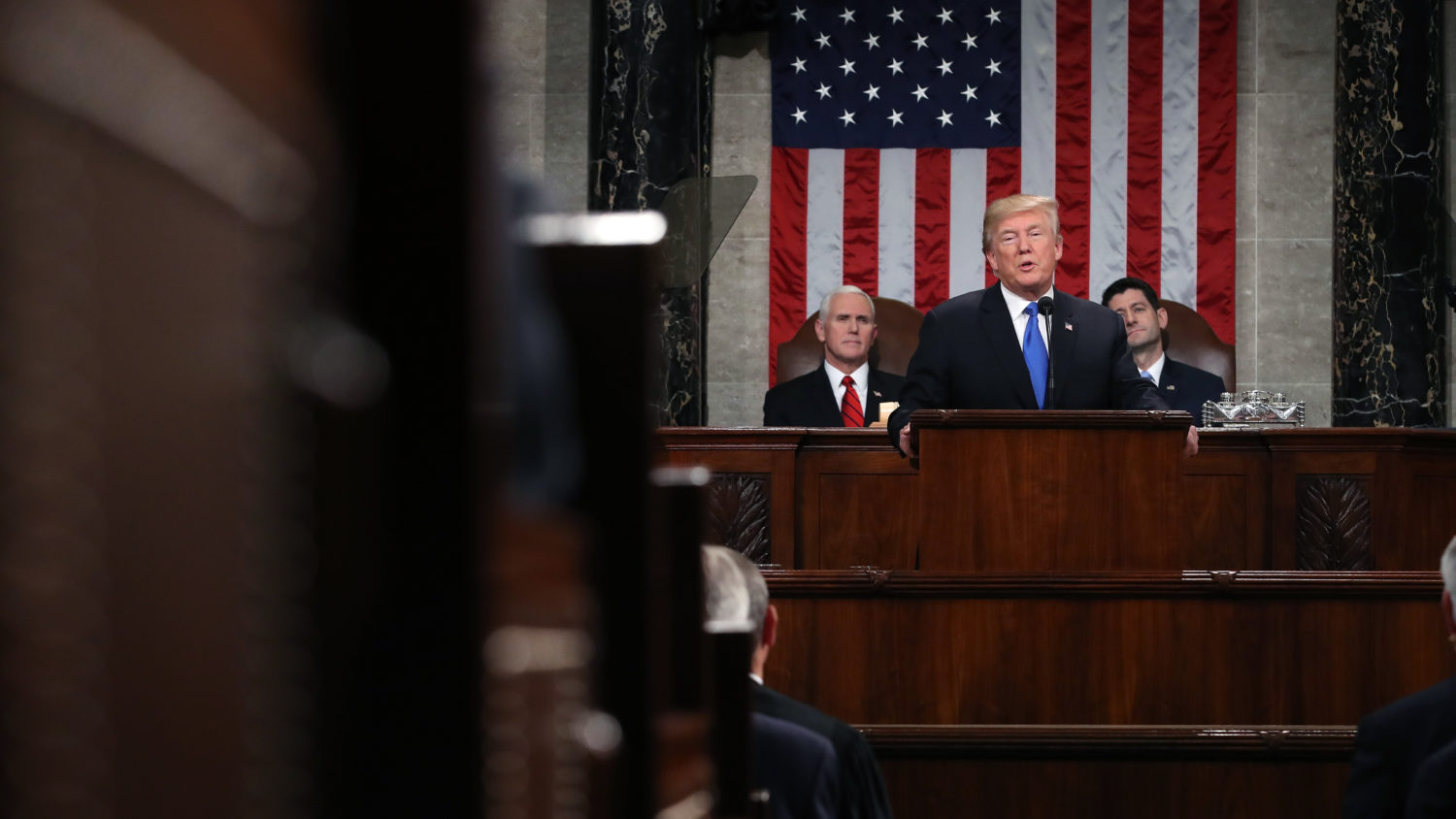 White House Moves Forward With State Of The Union Plans