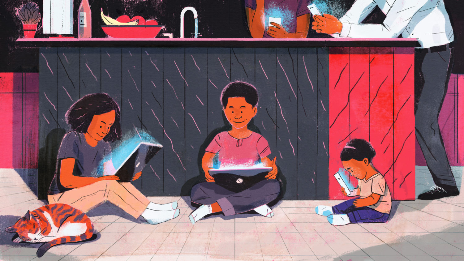 Forget Screen Time Rules — Lean In To Parenting Your Wired Child, Author  Says   WAMU