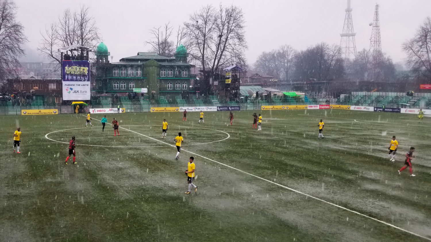 Against The Odds, A Pro Soccer Team In Kashmir Is Close To Winning