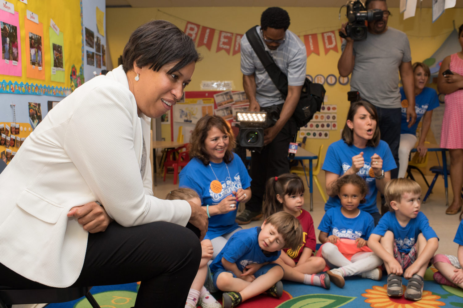 Achievement Gap In Dc Starts In Infancy >> D C S Free Preschool Program Turns 10 How It S Changed Family Life