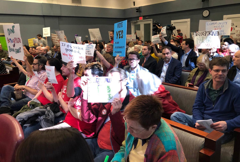 Unanimous Dc Council Panel Advances >> Amid Noisy Protests Arlington Approves 23 Million Incentives Deal