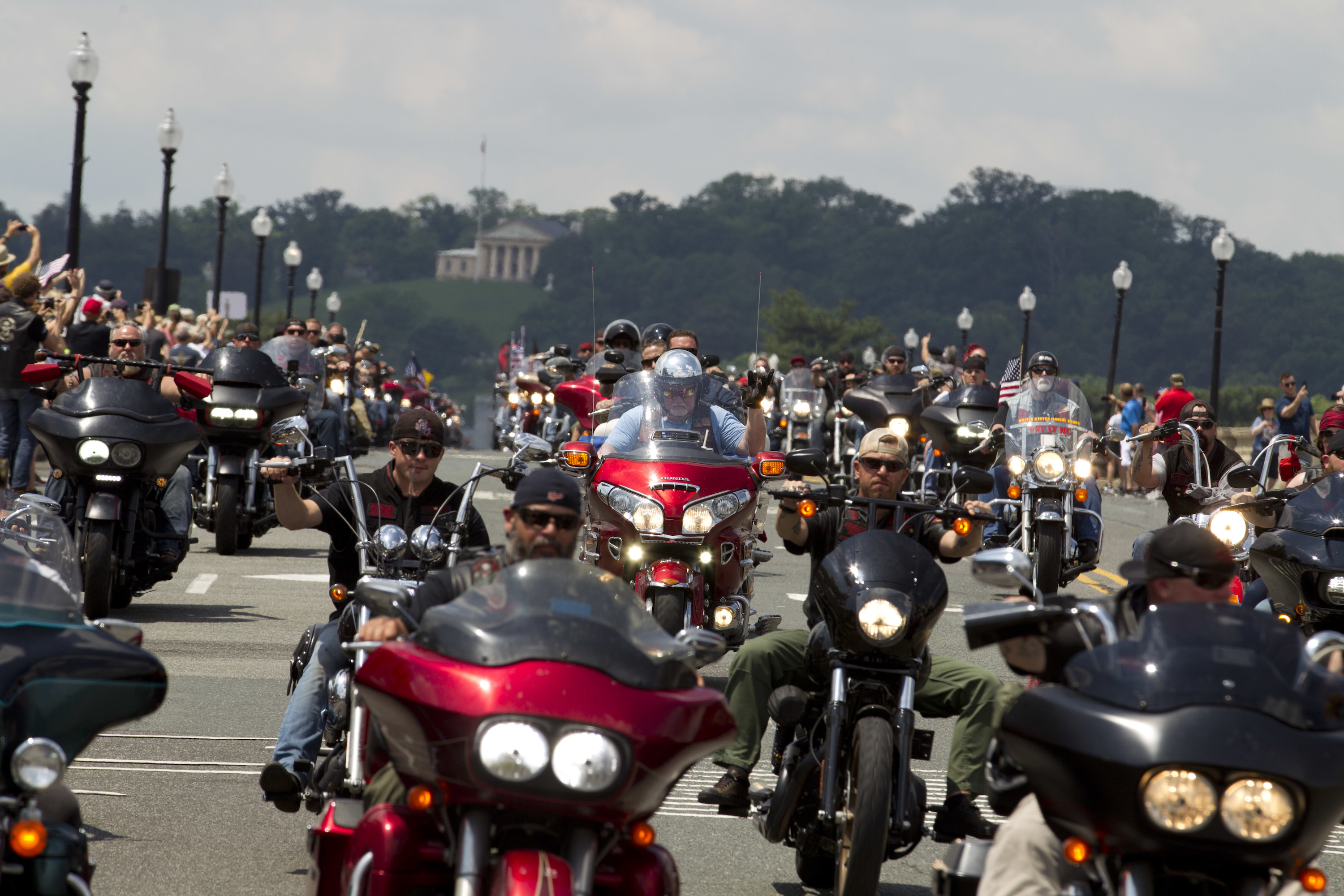 Rolling Thunder Motorcyclists Converge On Washington For The Last