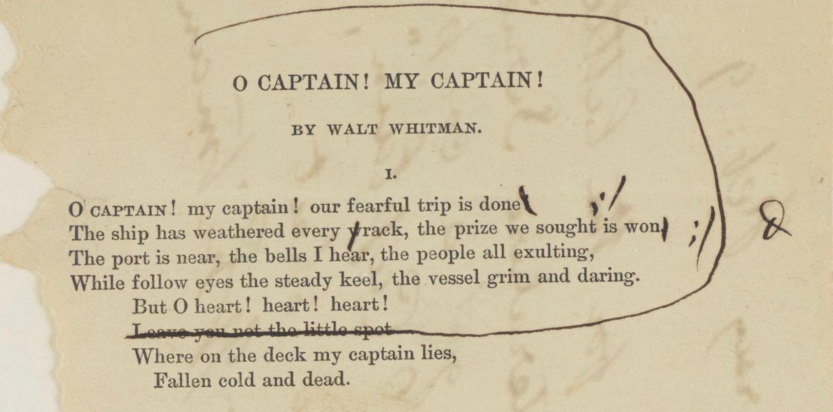 How Walt Whitman S Decade In Washington