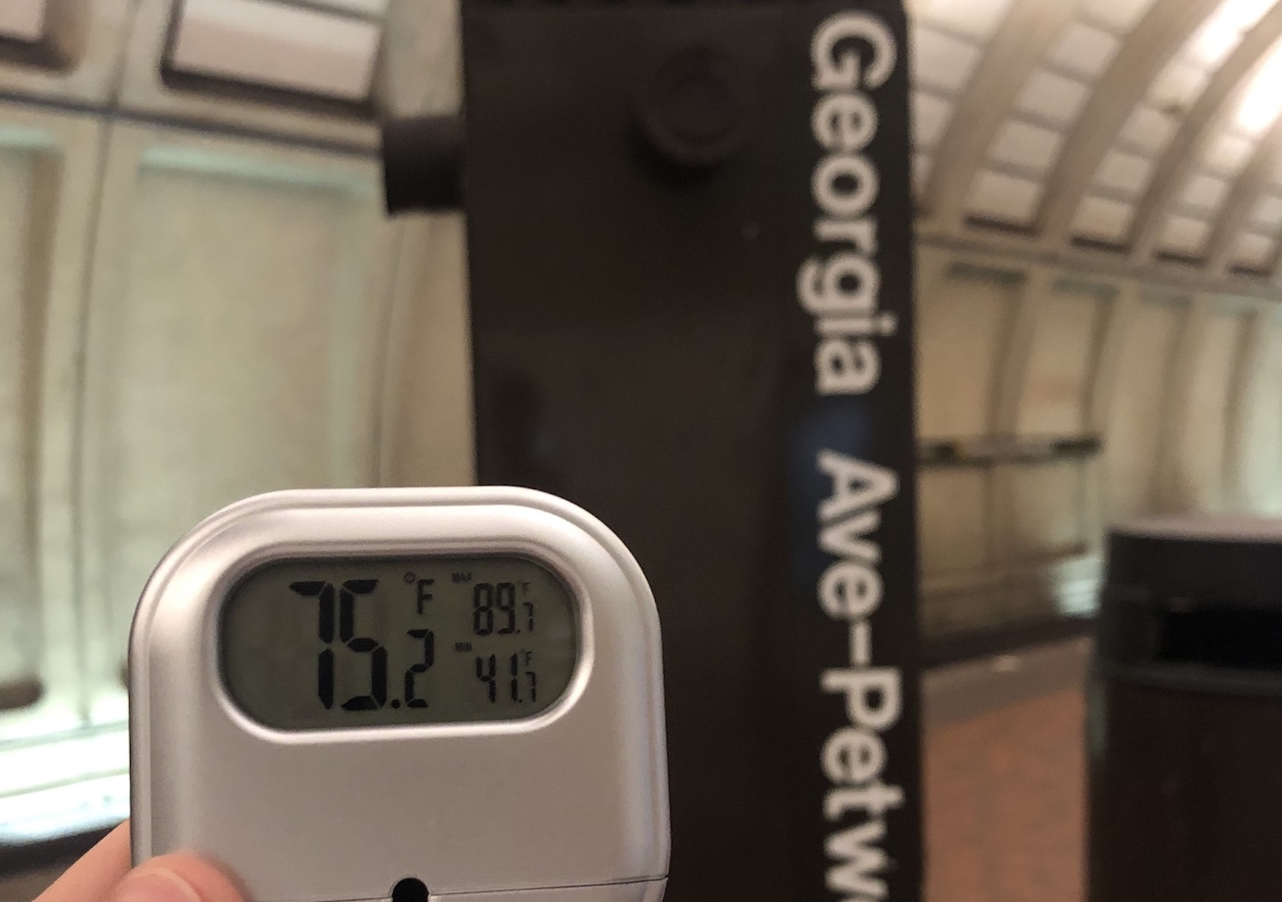 Just How Hot Are The Metro Stations During This Heatwave?
