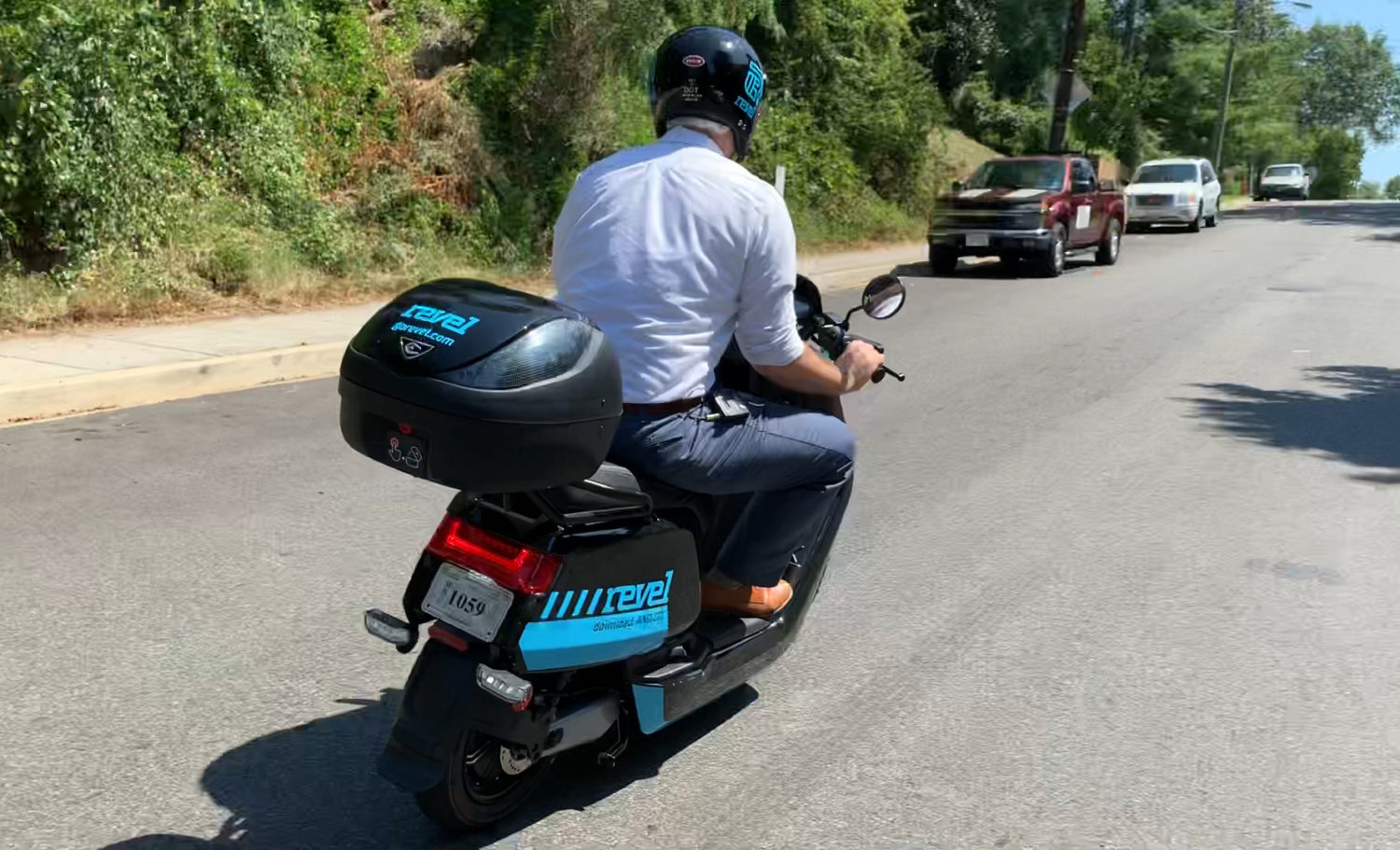 Here's What It's Like To Ride The New Shared Mopeds -- And