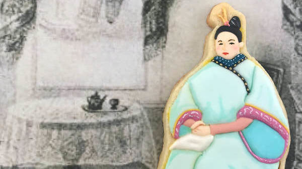 Cookie Artist Teaches Edible Lessons In Asian-American