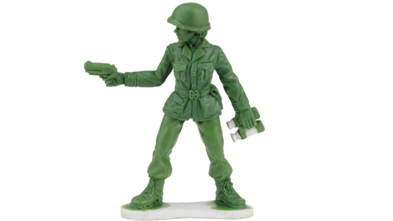 Lego Green Army Men Helmet Military NEW
