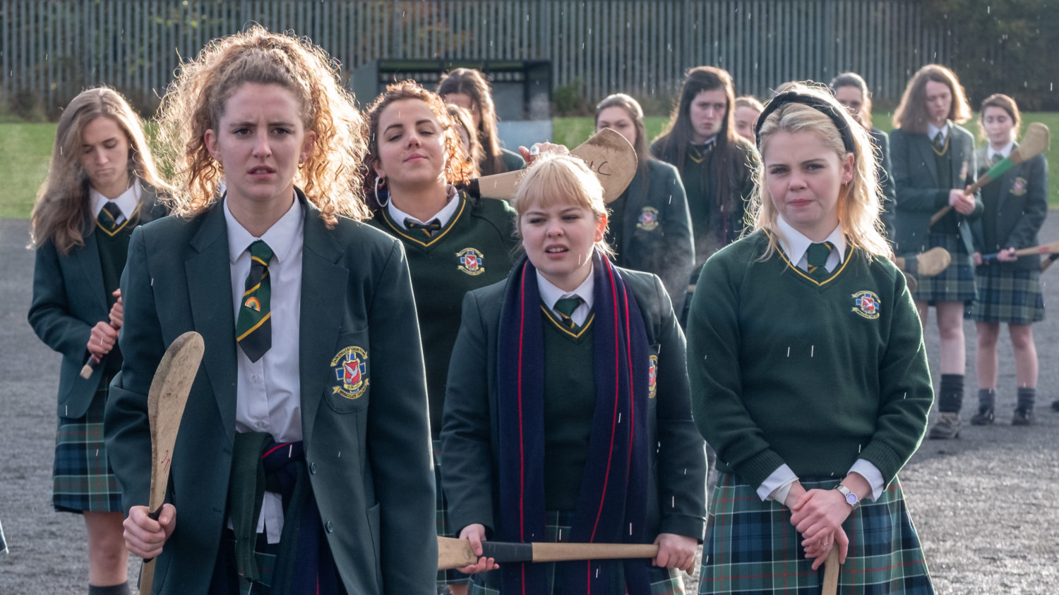 In Northern Ireland, 'Derry Girls' Balance Teen Comedy And