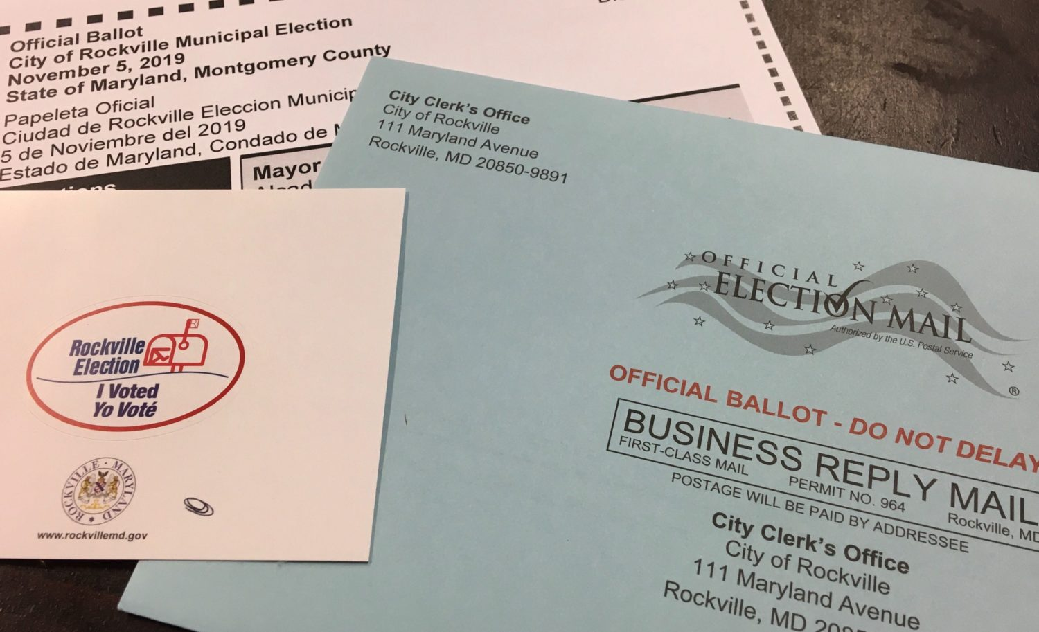 Rockville Becomes Testing Ground For Vote-By-Mail In Maryland ...