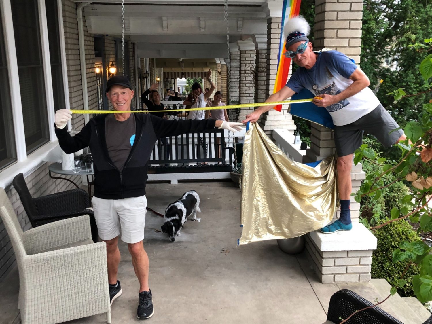 6 Feet 6 stoop sings, scavenger hunts and bagpipes: how neighbors