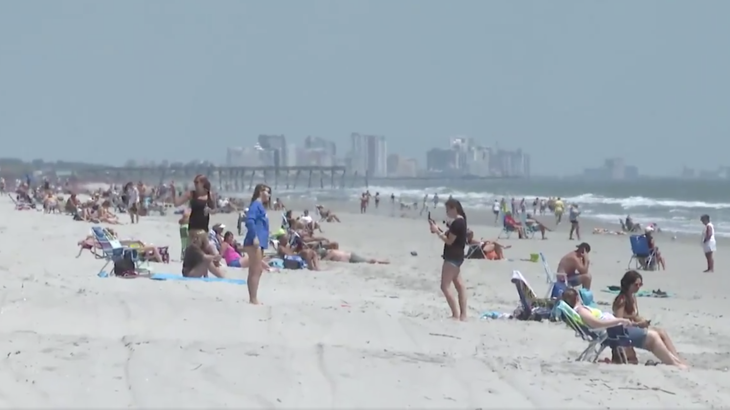 S C Beaches Reopen Or Not Reflecting A Divide Over