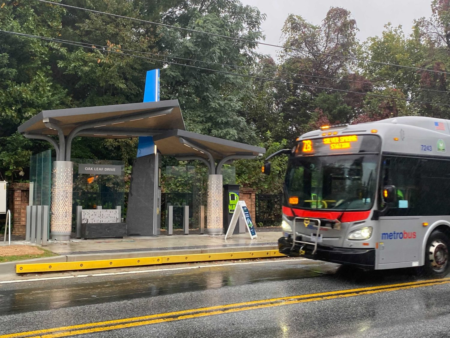 New Bus Service To Launch In Montgomery County Wamu