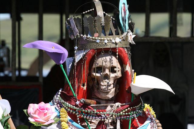 Digging Into The History Of Mexico's Grim Santa Muerte | WAMU