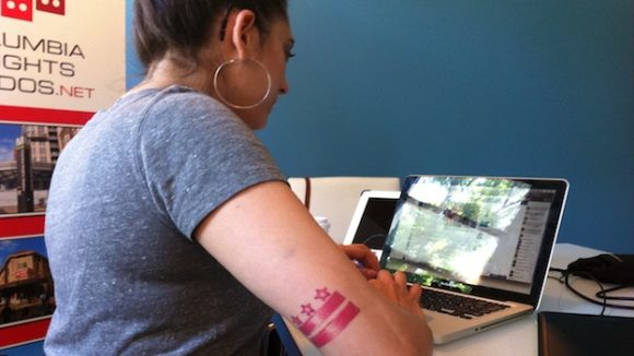 D C Residents Celebrate Flag Day With Tattoos