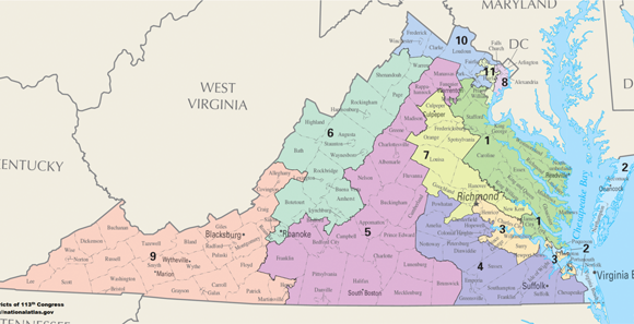 Can Virginia Lawmakers Compromise On New Congressional District