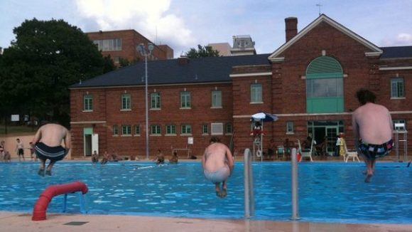 Banneker was built in 1934 as a pool for black Washingtonians, but today it attracts residents of all types.