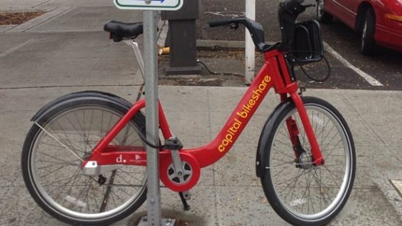 Capital Bikeshare Bike Ends Up On Seattle Street Prompting