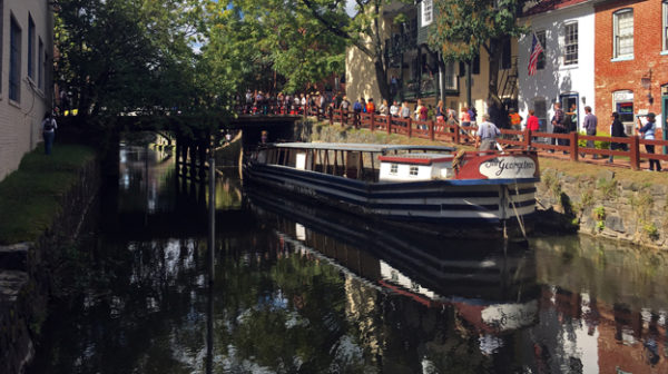 Georgetown Says Goodbye To Historic Canal Boat Hello To Major
