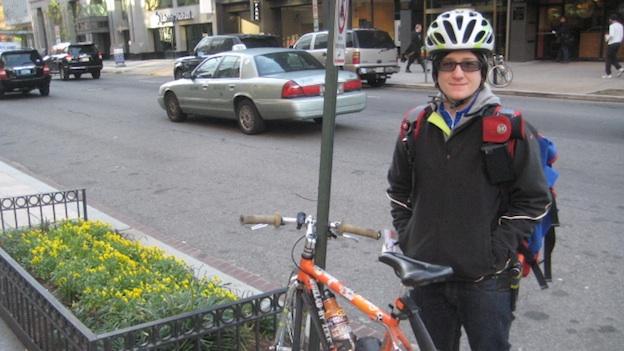 D C Gigs Pedaling Around Town With A Bike Messenger Wamu