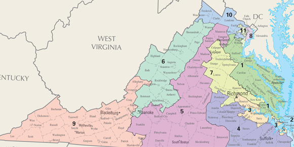 Judges To Decide Whether Virginia District Map Illegally Clusters