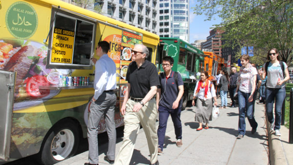 For D C  Food Trucks, Parking-Spot Lottery Is Now Baked Into